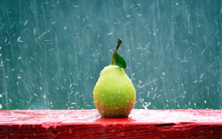 rain-and-fruit